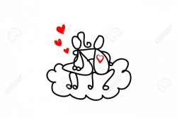 17875829-cartoon-hand-drawn-love-character-Stock-Vector